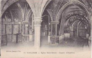 France Toulouse Eglise Saint Sernin Cryptes
