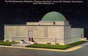 Pennsylvania Pittsburgh The Buhl PLanetarium :Theatre Of The Stars 1951...