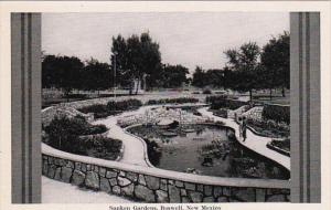 New Mexico Roswell The Sunken Gardens