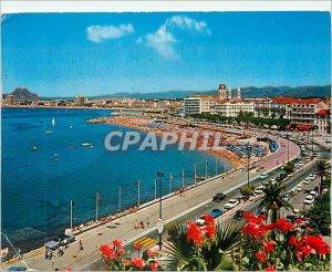 Modern Postcard Saint Raphael (Var) the French Riviera Var view Generale has ...