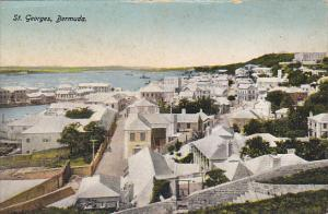 Panorama Of St Georges Bermuda
