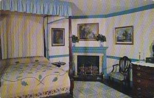 Virginia Mount Vernon The Blue Bedroom At Mount Vernon