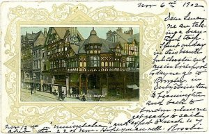 VINTAGE POSTCARD: GB -  CHESTER 1902