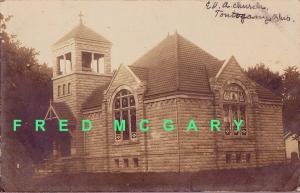 1907 Tontogany Ohio RPPC: EUA