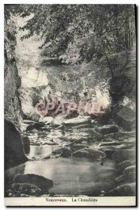 Old Postcard Nonceveux La Chaudiere
