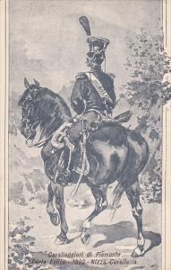 Patriotic Military Unit postcard , Italy , 1900-10s ; Cavalleggeri di Piemont...