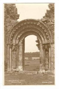 RP, S. W. Door Of Church, Haughmond Abbey (Shropshire), England, UK, 1920-1940s