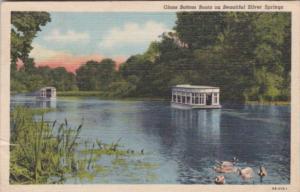Florida Silver Springs Glass Bottom Boats 1947 Curteich