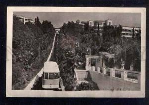 042522 RUSSIA SOCHI Voroshilov sanatorium funikuler