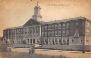 Maine  Lewiston, High School