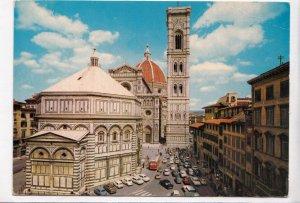 FIRENZE, Battistero - Cattedrale e Campanile di Giotto, unused Postcard