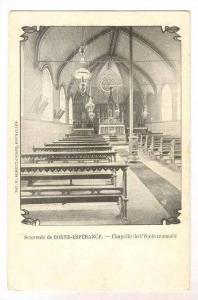 Souvenir de BONNE-ESPERANCE.-Chapelle de l'ecole normale, Pre-1907  Vellereil...