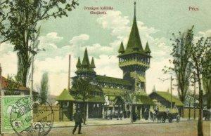 hungary, PÉCS, National Exhibition Entrance (1911) Postcard