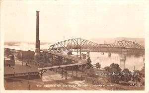 Mississippi River Winona MN 1929