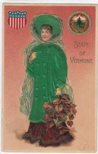 VERMONT State Girl , 00-10s ; Silk