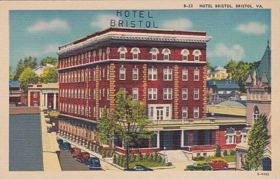 Virginia Bristol Hotel Bristol