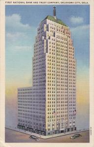 First National Bank and Trust Company, Oklahoma City, Oklahoma, United States...