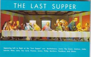 Tennessee Gatlinburg Christus Gardens The Last Supper