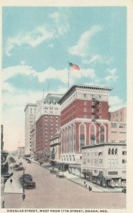 OMAHA , Nebraska , 1910-20s; Douglas Street