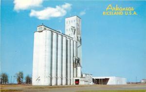 Doniphan Arkansas~Riceland U.S.A~Rice Dryer & Elevators 1960s PC