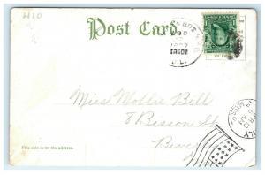 Postcard Lover Lane, Orr's Island, Maine ME 1907 H23