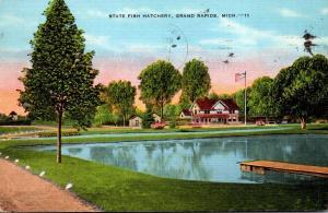Michigan Grand Rapids State Fish Hatchery 1937