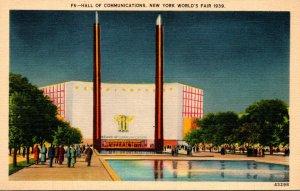 New York World's Fair 1939 The Hall Of Communications