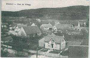 Vintage postcard: SWITZERLAND - SCHWEIZ : Miécourt, Porrentruy - Jura