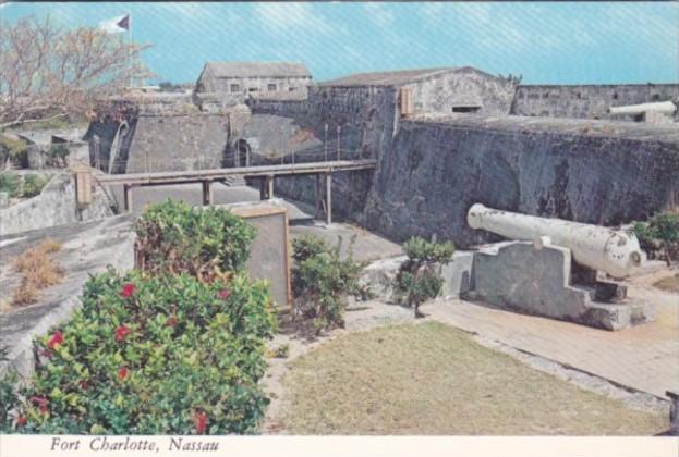 Bahamas Nassau Fort Charlotte