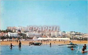 Postcard Modern Tangier Panorama of the Beach