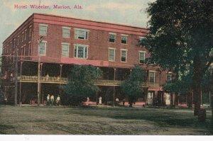 MARION, Alabama, 1900-10s; Hotel Wheeler