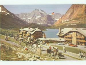 Unused Pre-1980 MANY GLACIER HOTEL Glacier National Park Montana MT hr6098