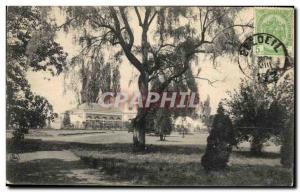 Belgie Belgium Old Postcard Chateau Beloeil In the park