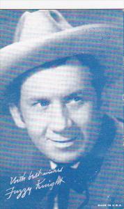 Cowboy Arcade Card Fuzzy Knight