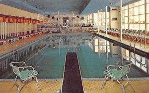 The Fallsview Indoor Pool Ellenville, New York Postcard