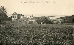 France - St. Jacut de la Mer, The Abbey Chapel