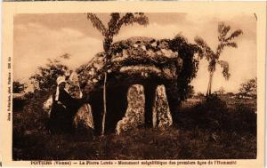 CPA POITIERS - La Pierre Levée - Mon. megalithique des premiers age (255794)