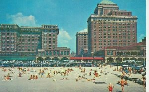 Postcard - NJ - New Jersey Chalfonte Haddon Hall Hotel Atlantic City Posted 1962
