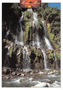 B53475 Ile de la Reunion Cascade de la Riviere des Pluies