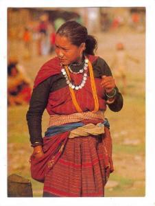 Magar Girl , Western NEPAL , 50-70s