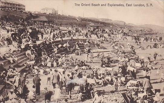 South Africa East London The Orient Beach and Esplanades