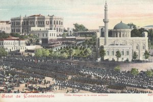 Salut de Constantinople (Istanbul) , Turkey , 1900-10ss ; Vildiz-Kiosque et l...