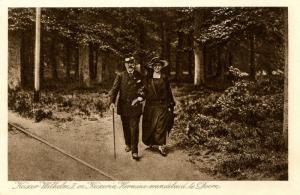 German Royalty - Kaiser Wilhelm II and Hermine