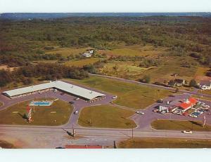 Pre-1980 HOJO - HOWARD JOHNSON'S MOTEL & RESTAURANT Glens Falls NY r1183