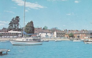 Palmena Ship in Hamble From The River Hampshire 1980s Postcard