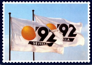 Spain Sevilla Exposition '92 Flags