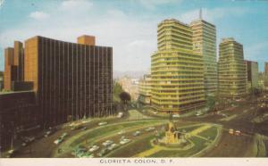 Bird's Eye View, Glorieta Colon, Distrito Federal, Mexico, 40-60s