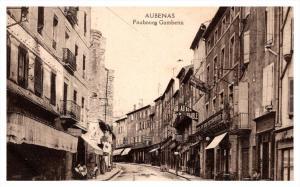 France Aubenas , Faubourg  Gambetta