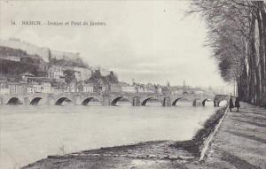 NAMUR, Belgium, 1900-1910's; Donjon et Pont de Jambes
