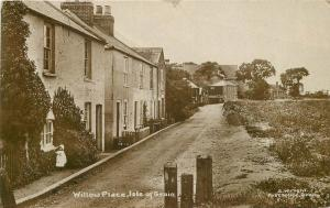 C-1910 Kent UK Willow Place Isle of Grain Wright RPPC real photo postcard 6769